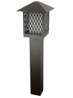 High Quality Hollow out bollard  lamp