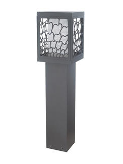 Outdoor Waterproof Square Garden Bollard Light