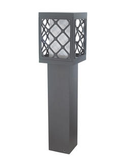 Square European Style Outdoor Landscape Pillar Lamp