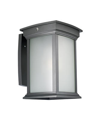 Black Outdoor Lantern Wall Light 1631
